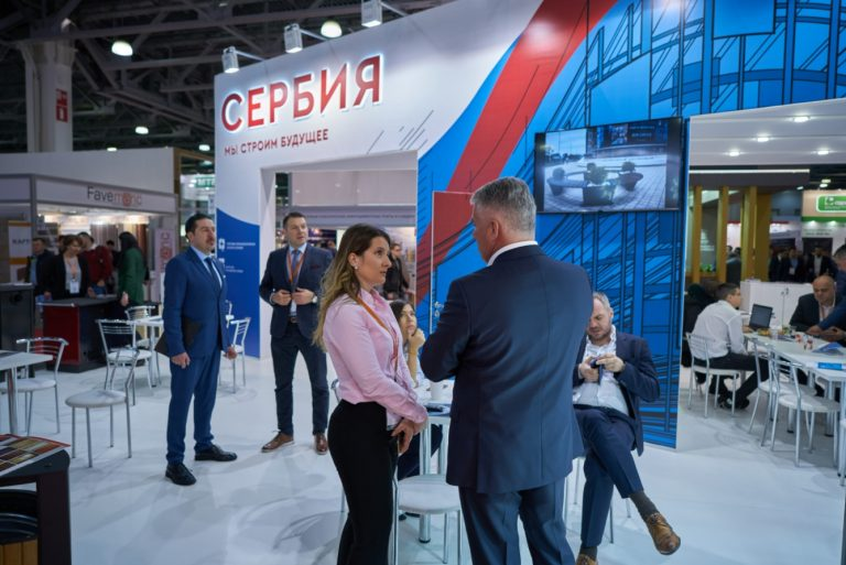 Mosbuild 2019: บริษัท เซอร์เบียค้นหาพันธมิตรรัสเซีย